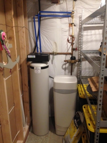 City water treatment for hardness and odor in Littleton