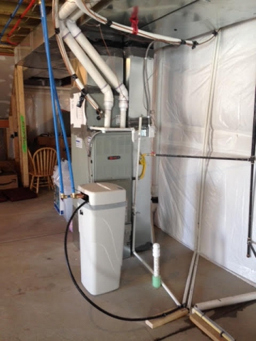 City water treatment for taste odor sediment in Parker