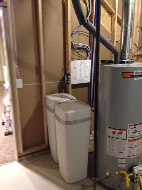 Water treatment for city water hardness taste and odor in Parker