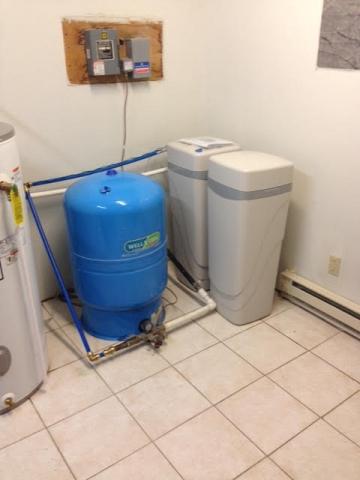 Treatment system for sediment pH adjustment hardness