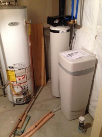 HC3 City water system to treat hardness taste odor