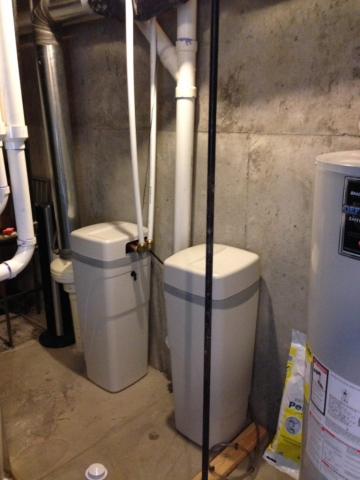City water treatment for chloramines taste ordor hardness