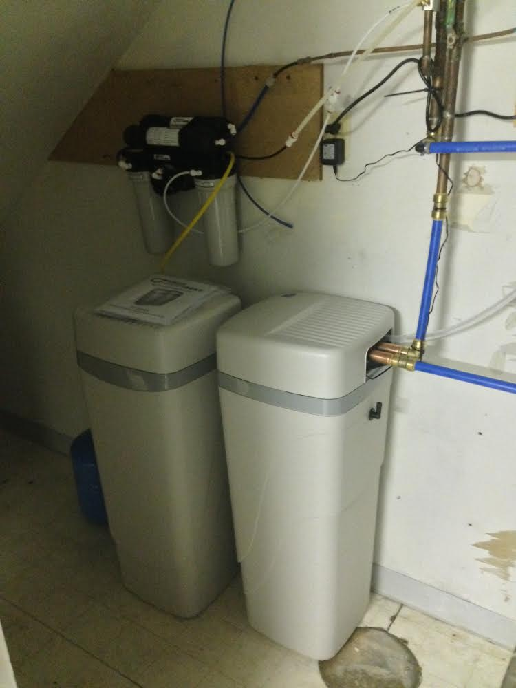 Treatment of well water hardness sediment including RO and UV ultraviolet system in Fort Collins