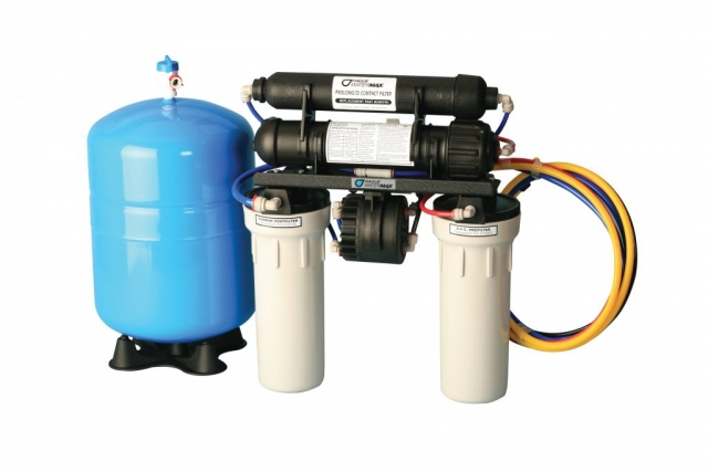 Our primary manufacturer, Hague Quality Water, is located near Columbus, OH, where our premier H3500 reverse osmosis (RO) system, is completely manufactured and assembled - Made In America! Our RO has a 25-year limited warranty and is among the best in the business! Gives you purified, quality water right at your kitchen sink and in most instances directly to your fridge for ultrapure ice. Our non-electric pump fills the storage tank 5x faster than conventional RO systems.