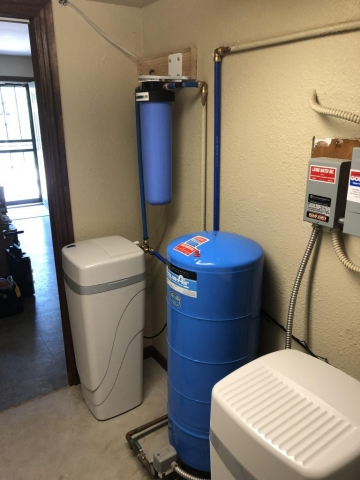 Water treatment in Conifer for radon uranium and fluoride